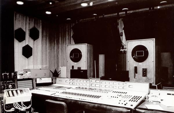 東京目黒のパイオニアP.S.C.CENTER 録音スタジオ(当時)