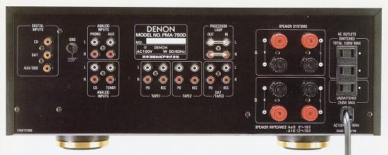 Amply denon 780d 3