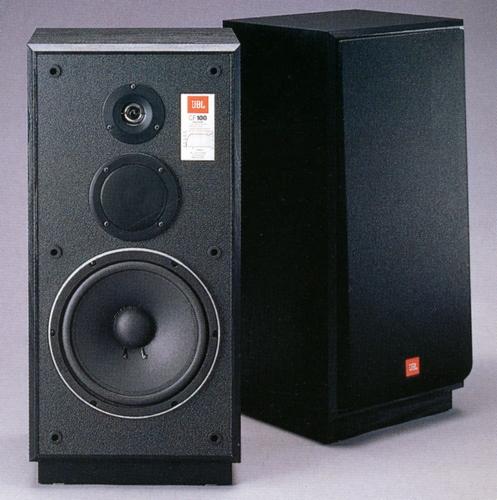 [ 一元音響 ] 品相漂亮 美國製 JBL CF100 10吋低音 三音路大喇叭 一元起標