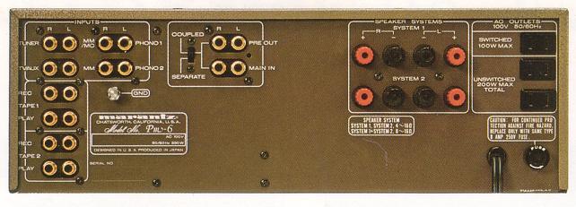 [ 一元音響 ] 頂級經典古董 日本製 Marantz PM-6 A類30瓦 高階二聲道綜合擴大機 一元起標
