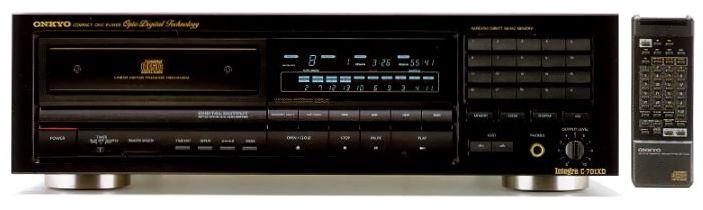 星期三音响:最新到货 成色极好的安桥onkyo c-701xd著名cd机