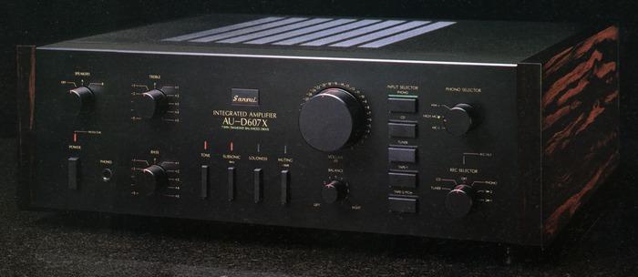 Bán Amply Sansui AU-D707G Extra, Yamaha A-25 | 5giay