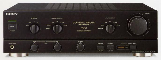 sony ta f500の仕様 ソニー
