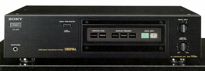sony/索尼 das-703es 顶级解码器,成色极新,效果一流.