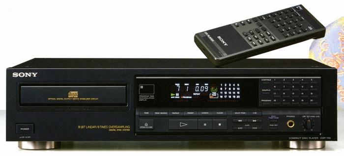 HCM - Thanh ly dau dia cdp sony cd-770 va cdp sony cd-790 dau ...