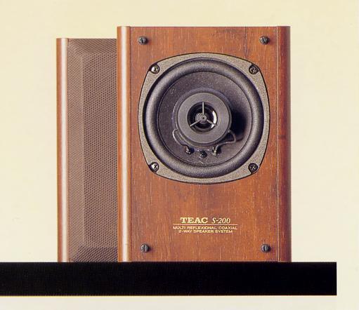 TEAC スピーカーシステムS-200の仕様 ティアック