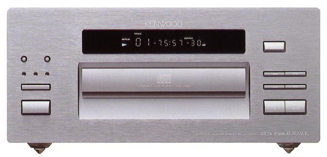 [ 一元音響 ] 極品PCM1702晶片x8 隱藏的珍寶 KENWOOD DPF-7002 高階CD播放機 一元起標