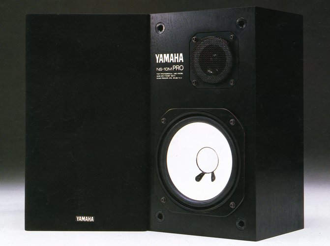 yamaha 雅马哈 ns-10m pro 监听音箱(已出)
